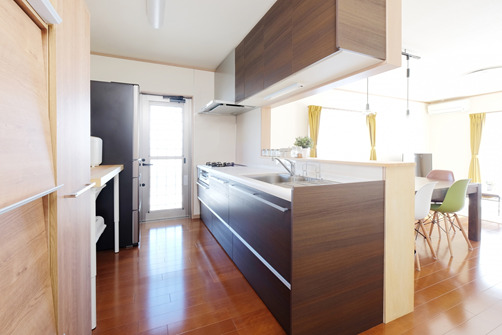 キッチン風景