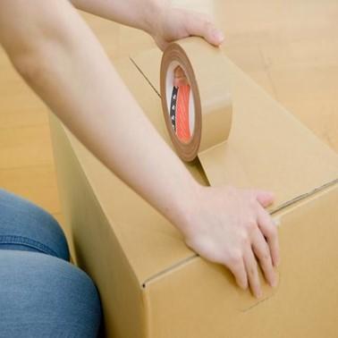 引越し 荷造り ガムテープ