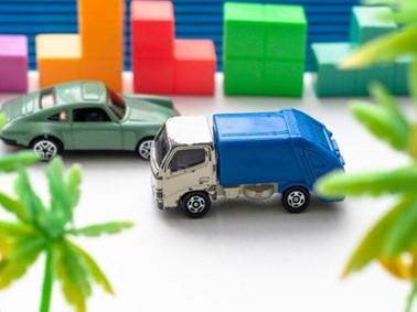 ゴミ 車 ゴミ収集車