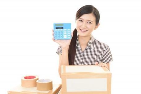 女性 電卓 計算